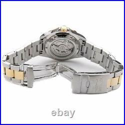 Invicta Men's Watch Pro Diver Automatic Blue Dial Two Tone Steel Bracelet 17042