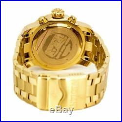 Invicta Men's Watch Pro Diver Green Dial GT Bracelet Quartz Chronograph 0075