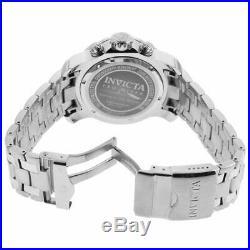 Invicta Men's Watch Pro Diver Scuba Black and Silver Tone Dial Bracelet 21920