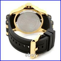 Invicta Men's Watch Pro Diver Scuba GMT TT Black and Yellow Gold Strap 6991