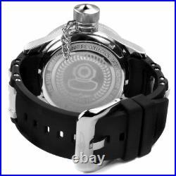 Invicta Men's Watch Russian Diver Quartz Black Dial Polyurethane Strap 4342