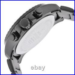 Invicta Men's Watch Specialty Black Dial Gunmetal IP Steel Bracelet Chrono 14879