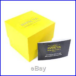 Invicta Men's Watch Specialty Quartz Charcoal Dial Silver Tone Bracelet 29372