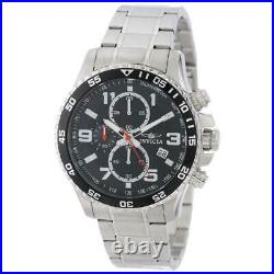 Invicta Men's Watch Specialty Stainless Steel Case Black Dial Chronograph 14875