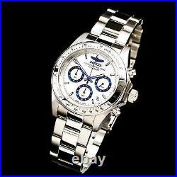 Invicta Men's Watch Speedway Quartz Chronograph Stainless Steel Bracelet 17311