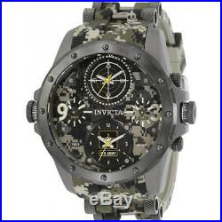 Invicta Men's Watch U. S. Army Two Tone Camouflage and Gunmetal Strap 31967