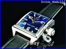 Invicta Mens 45mm RUSSIAN DIVER Swiss Ronda Movement BLUE DIAL Silver Tone Watch