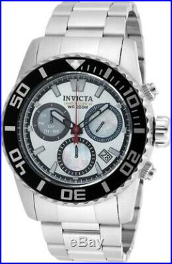 Invicta Mens 48mm Swiss Quartz Chronograph Limited Edition Stainless Steel Watch