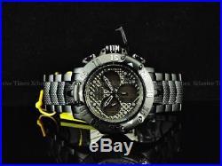 Invicta Mens 50mm Subaqua God Of The Black Sea Poseidon Z60 Chronograph SS Watch