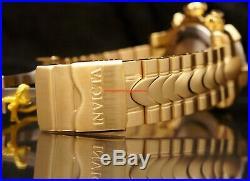 Invicta Mens 52MM Venom Cable Sliver Dial Chron Yellow-Gold Bracelet 1000M Watch