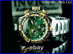 Invicta Mens 52mm BOLT Gen II Swiss Chronograph GREEN DIAL Limited Edition Watch
