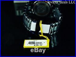 Invicta Mens 52mm Pro Diver Scuba Chrono COMBAT Black IRIDESCENT Abalone Watch