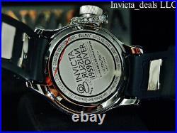 Invicta Mens 52mm RUSSIAN DIVER QUINOTAUR Blue Dial Swiss Ronda Special Ed Watch