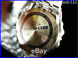 Invicta Mens 52mm Reserve Venom Hybrid Swiss Chronograph Blue Dial GIP SS Watch