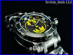 Invicta Mens 62mm DC Comics BATMAN Automatic Limited Edition SS Bracelet Watch