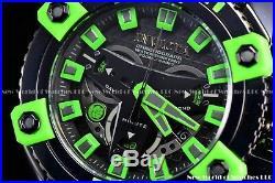 Invicta Mens 63mm Marvel Bruce Banner The Hulk Black Green Swiss Chrono SS Watch