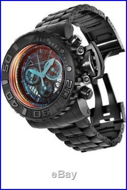 Invicta Mens 70MM Sea Hunter Combat Swiss Quart Chronograph SS Bracelet Watch