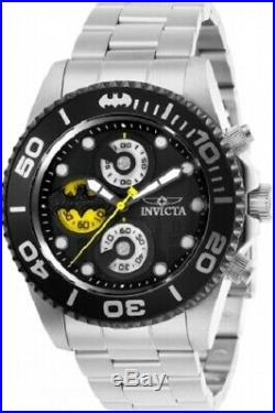 Invicta Mens Batman DC Comics 29058 Limited Edition Chronograph Black Dial Watch