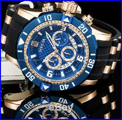 Invicta Mens JT Ltd. Ed. Scuba Gen III Chronograph 18K Rose Gold IP S 200M Watch