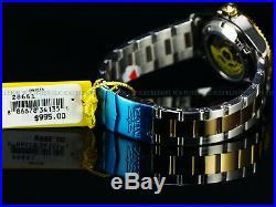 Invicta Mens Original Coin Edge PRO DIVER NH35 Automatic Gd 2Tone SS Green Watch