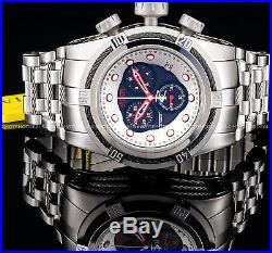 Invicta Mens Reserve Bolt Zeus Swiss ETA Chronograph Stainless Steel 200M Watch
