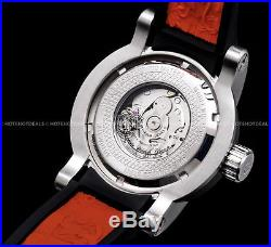 Invicta Mens S1 Yakuza Dragon NH35A Automatic 24J Silver Black n Red Strap Watch