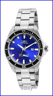 Invicta Pro Diver 15184 Men's Blue Round Analog Date Stainless Steel Watch