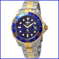 Invicta Pro Diver Grand Diver Automatic Blue Dial Mens Watch 3049