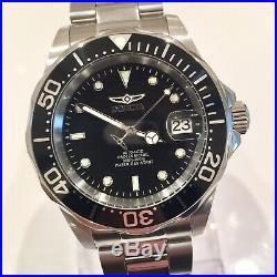 Invicta Pro Diver Mens Automatic Seiko NH35A Black Watch 40mm Submariner Homage