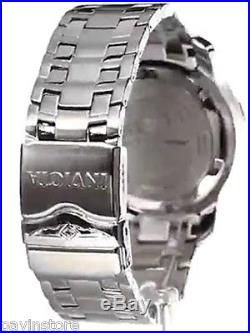 Invicta Pro Diver Mens Swiss Watch Chronograph Scuba Silver Blue Steel Dial New
