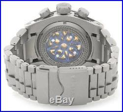 Invicta Reserve 12727 52mm Bolt Zeus Swiss Made Meteorite Titanium Mens Watch