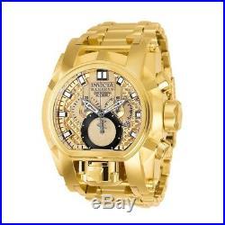 Invicta Reserve Bolt Zeus Gold Band Metal Gold Dial Quartz Mens Watch 25210