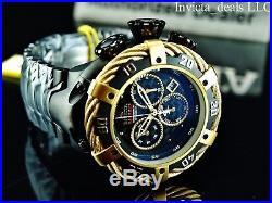 Invicta Reserve Men's 52mm Jason Taylor Thunderbolt Ltd Ed Swiss Chrono SS Watch