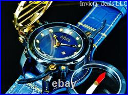Invicta Reserve Men's 52mm Russian Diver COMPASS BLUE LABEL Blue MOP Dial Watch