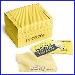 Invicta S1 Rally Men's 19286 Quartz Watch Stainless Steel Case with Leather Strap
