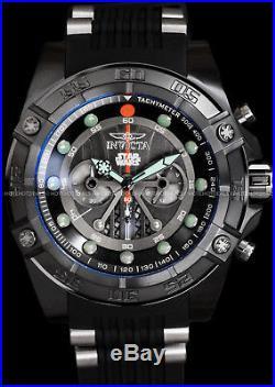 Invicta STAR WARS Darth Vader Men's 52mm Limited Edition Chronograph Black Watch