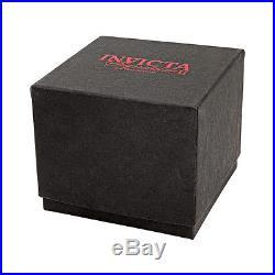 Invicta Signature II Chronograph Gold-tone Dial Black Rubber Mens Watch 7398
