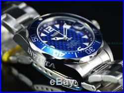 Latest 2019 NEW Invicta 40mm Mens Pro Diver Automatic Blue CF Dial 200M SS Watch