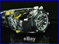 Limited Edition Invicta Men 52mm JT Carbon Ronda Z60 Chrono Silicone Strap Watch