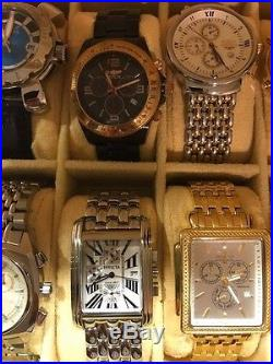 Lot of 12 Invicta Men's Watches