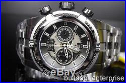 Men Invicta 12719 Reserve Zeus Bolt Auto Dubois Depraz Black Swiss Watch New