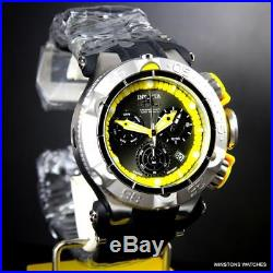Men Invicta Subaqua Noma V Yellow 50mm Swiss Movt Chronograph Silicone Watch New