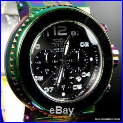 Men's Invicta Pro Diver Combat Seal Iridescent Steel Chronograph 52mm Watch New