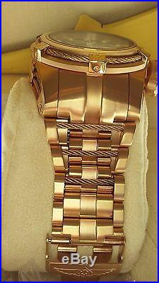 Mens Invicta 12762 Reserve Bolt Zeus Swiss Automatic SW500 Watch 18K Gold