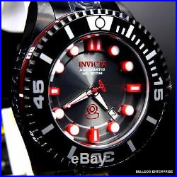 Mens Invicta Grand Pro Diver Generation II Black Red NH35A Automatic Watch New