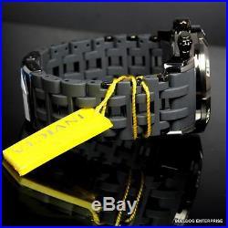 Mens Invicta Sea Spider Gen II 50mm Chronograph Grey Rubber Watch Warranty New