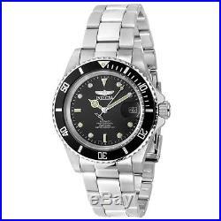 New Invicta Mens Pro Diver 24 Jewel Automatic 8926ob Coin Bezel Watch 8926 Ob