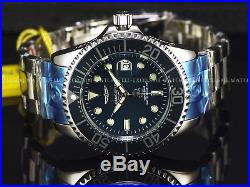 NEW Invicta 300M Men Grand Diver Automatic TEAL BLUE Dial High Polish 47mm Watch