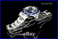 NEW Invicta 47mm Men's Grand Diver AUTOMATIC Blue Dial Silver Bracelet Watch
