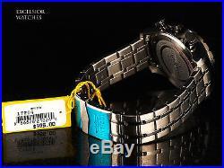 NEW Invicta 48mm Aviator Men's Japan Quartz Chronograph Shark Grey Dial SS Watch